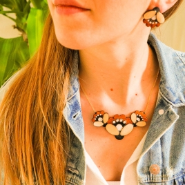Floral Folk jewelry set