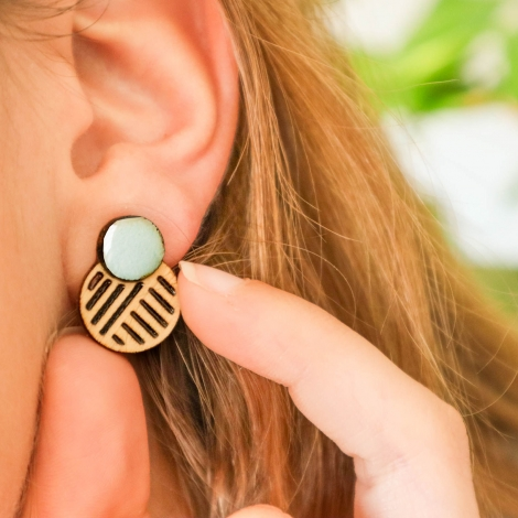 Ito Earrings mint