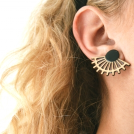 Dou statement earrings