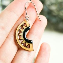 Akita earrings