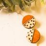 Statement earrings Dots
