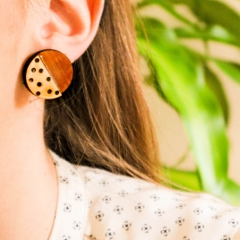 Statement earrings Dots