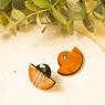 Deco statement earrings